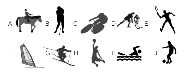 Sports vocabulary practice for Cambridge English: Key (Key
